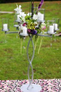 Euro Crystal Candelabra 27 - wedding candelabras