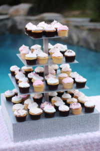 Bling Cupcake Tower 1 - cupcake and cake stands