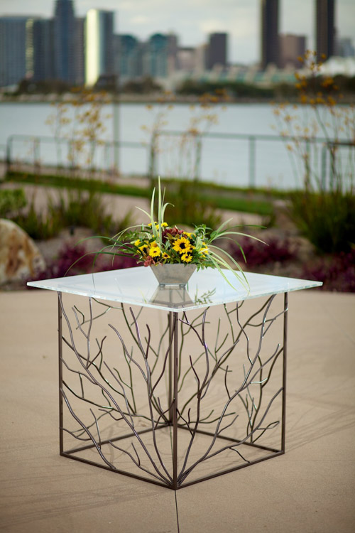 Branch Cake Accent Table ⋆ Wedding Amp Party Rentals San