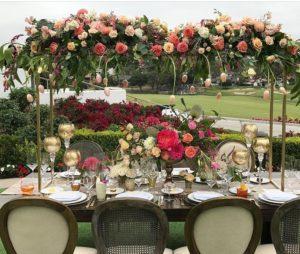 Bridges 14 - wedding centerpieces and candelabras