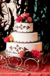 C-scroll cake stand 1 - wedding cake stand