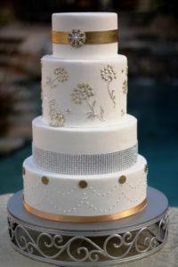 Cambria Cake Stand Round 1 - wedding cake stand