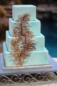 Cambria Cake Stand Square 2 - wedding cake stand