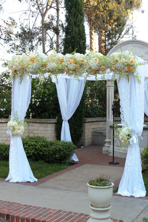 Classic Canopy Chuppah ⋆ Wedding Amp Party Rentals San Diego Ca