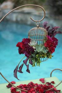 Crescent 3 - wedding centerpieces and candelabras
