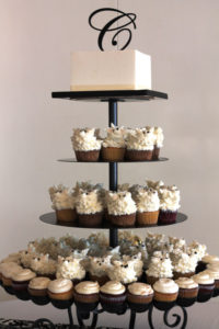 Flowerbed Cupcake Stand 1 - cake and cupcake stands