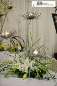 Lotus 2 - wedding centerpieces and candelabras