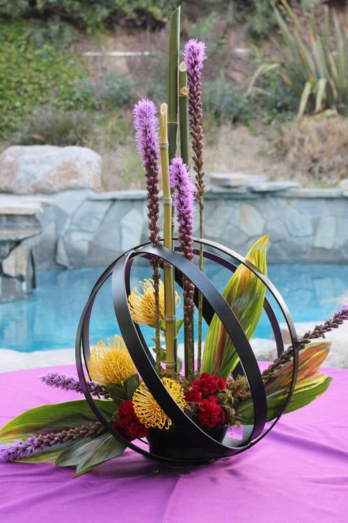 Moon Sphere Centerpiece ⋆ Wedding Amp Party Rentals San