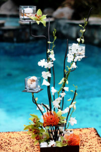 Pacific 12 - wedding centerpieces and candelabras