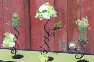 Seville 1 - wedding centerpieces and candelabras