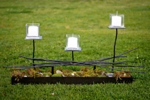 Sierra Large 1 - wedding centerpieces and candelabras