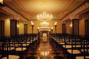 Torchiere aisle candelabra 1 - wedding ceremony decor