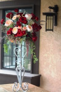 Allure Centerpiece 1 - wedding candelabras