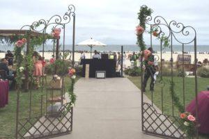 Garden Gates 1 - wedding ceremony