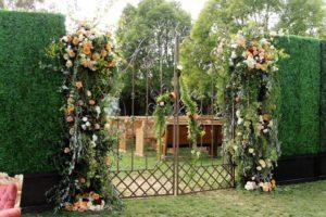 Garden Gates Hinged 1 - wedding ceremony