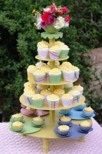 Teacup Tower 2 - cupcake and cake stands
