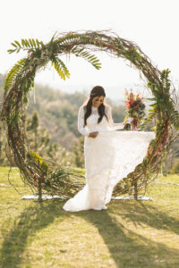 Circle C Arch 1 - wedding ceremony arch