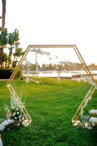Hexagon Arch 1 - wedding arch