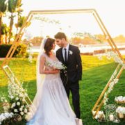 Hexagon Arch 2 - wedding arch