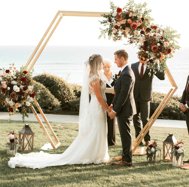 Hexagon Arch Wedding Amp Party Rentals And Sales In San Diego Ca